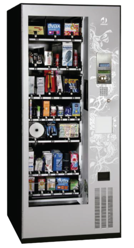 Vending Snack Machine with elevator